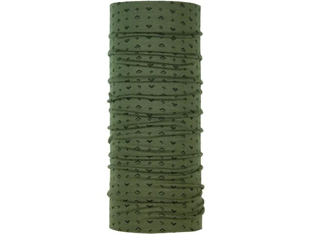 P.A.C. Tour de cou en laine mérinos, arrow olive